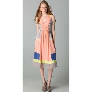 Rebecca Taylor Polka Dot Goddess Silk Dress 10